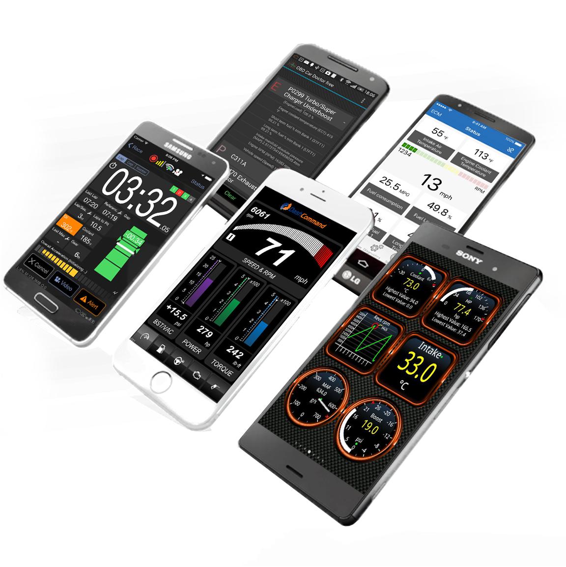 Kiwi 3 Obd2 Obdii Wireless Bluetooth Diagnostic Scanner