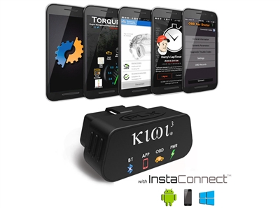 Kiwi 3 OBD Car to Smartphone Connection