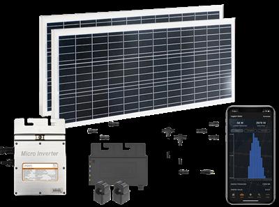 Legion Solar Starter Set 120VAC