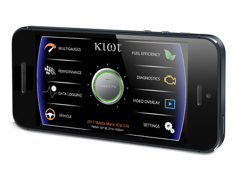 Kiwi App OBD Car to Smartphone Software