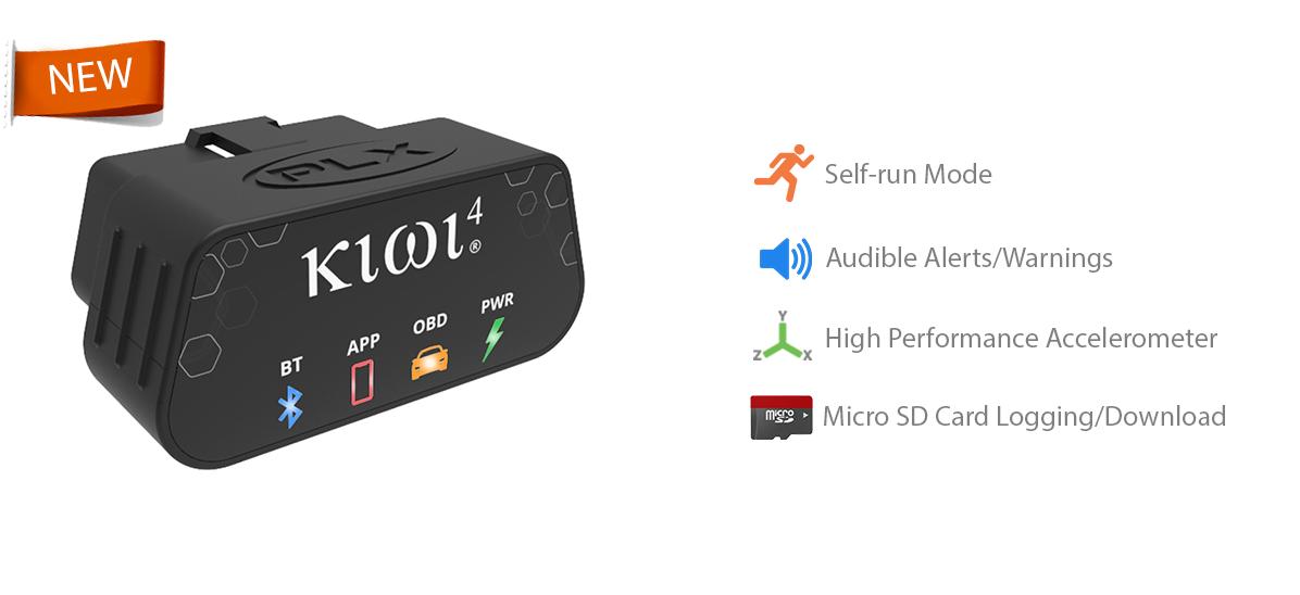 Kiwi - OBD OBDII Interface, Gauges, Scan tool, Diagnostics