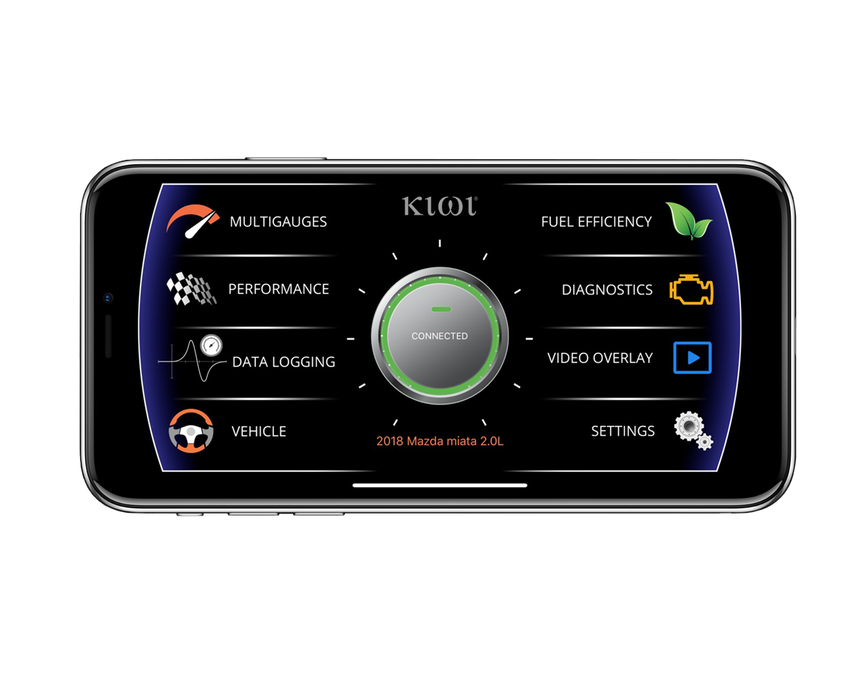 Kiwi - OBD OBDII Interface, Gauges, Scan tool, Diagnostics