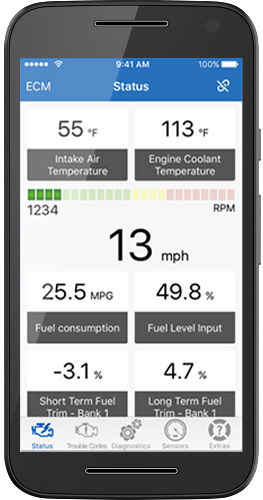Kiwi 3 OBD Auto Doctor for Android Support