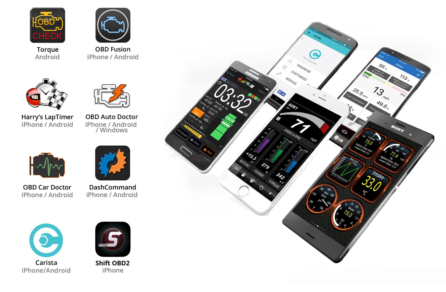 kiwi 4 obd2 obdii wireless bluetooth diagnostic scanner. Black Bedroom Furniture Sets. Home Design Ideas