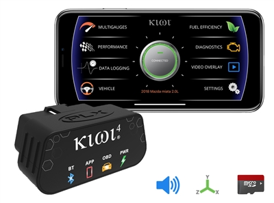 Kiwi 4 OBD Car to Smartphone Connection