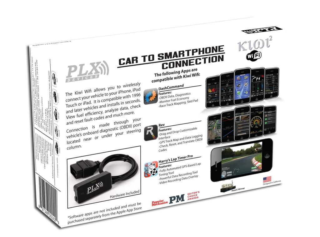 Kiwi OBD2 OBDII CAN Wireless Bluetooth Diagnostic Reader