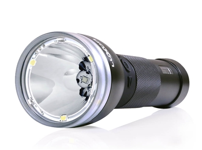 Luxor Intelligent LED Flashlight with Digital Display & Battery Monitor