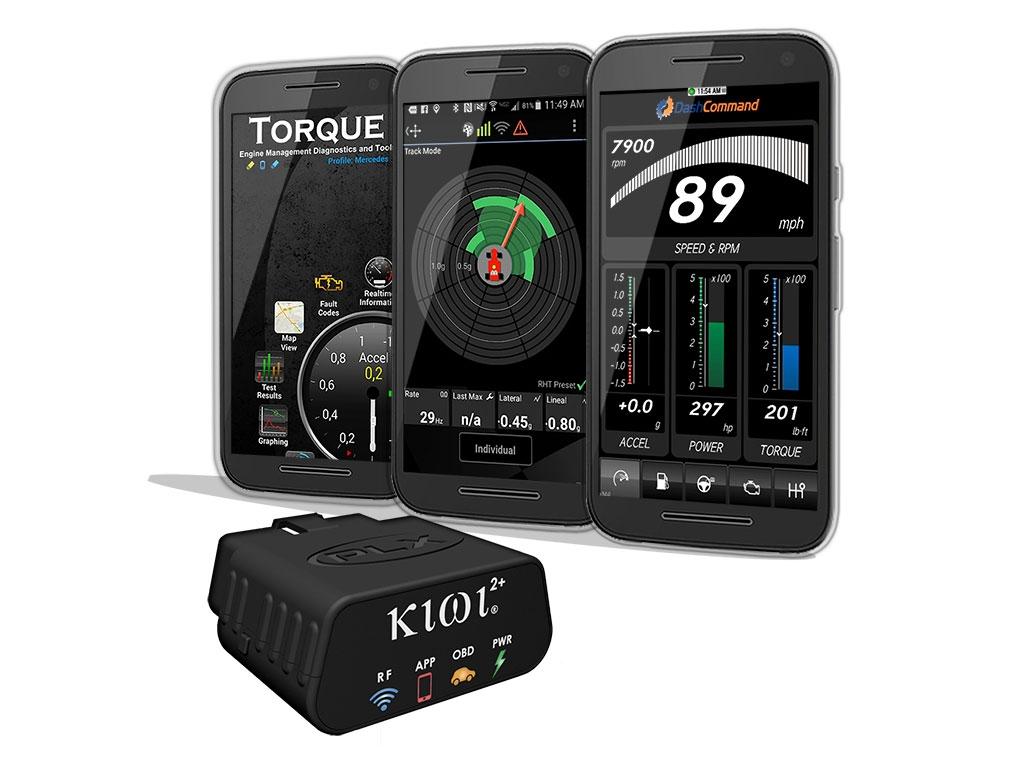 Kiwi 2+ OBD2 OBDII Wireless Bluetooth Diagnostic Scanner