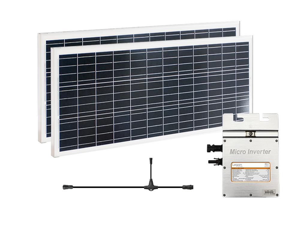 Legion Solar Expansion Set 120vac Gen 2